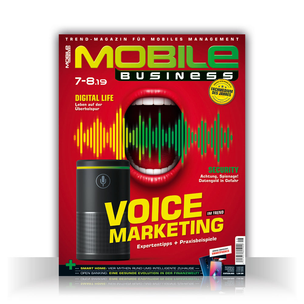 MOBILE BUSINESS Print Cover 2019